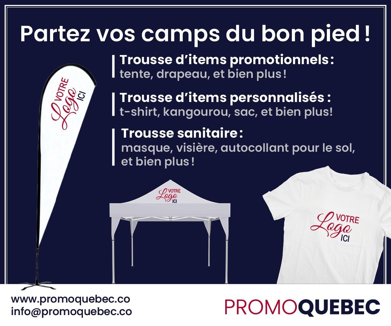 Promo Québec BB - gestionnaires de camp