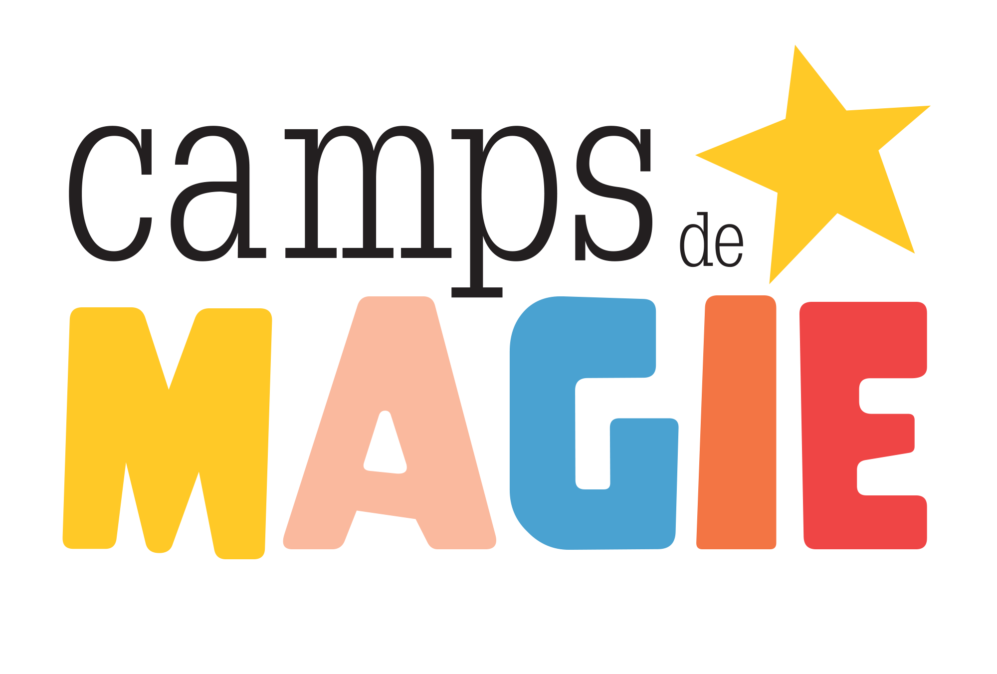 Camps de magie Logo copie