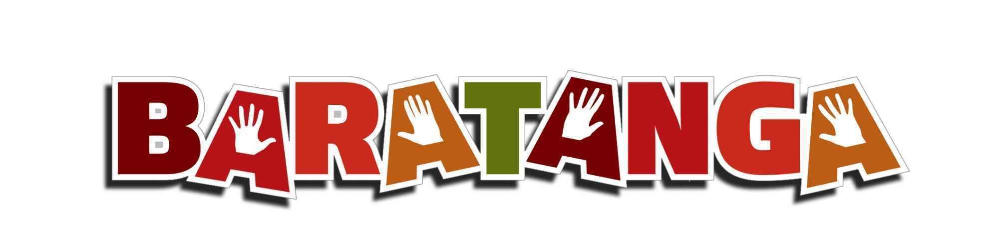 Logo Baratanga HORIZONTAL blanc