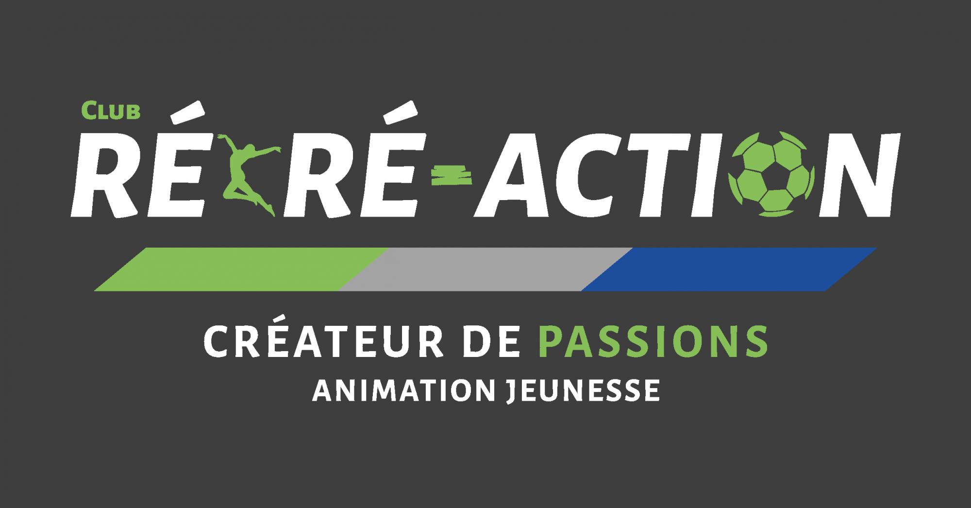 Logos Recre Action 1 Logo Couleurs